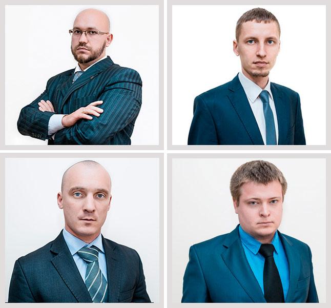 Команда юристов
